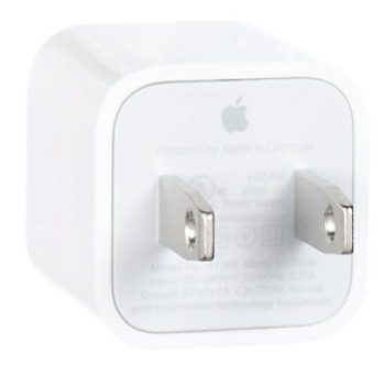Cargador adaptador USB de pared Original para iPhone, iPod
